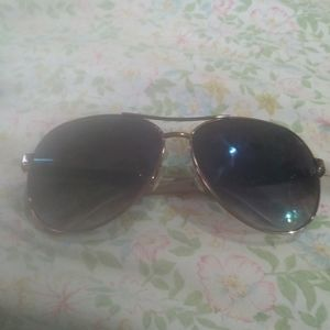 Jimmie Choo aviator sunglassed